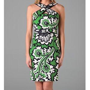 Milly Alessandra Keyhole Dress
